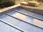 Pitched Lead roof